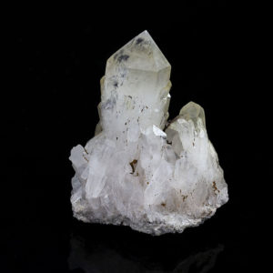 QUARTZ WITH HOLLANDITE